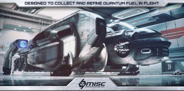 Массивная Транспортировка: MISC Starfarer