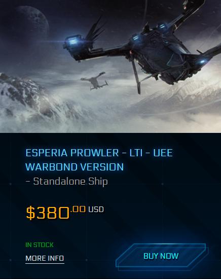 prowler-lti-uee-warbond-sale