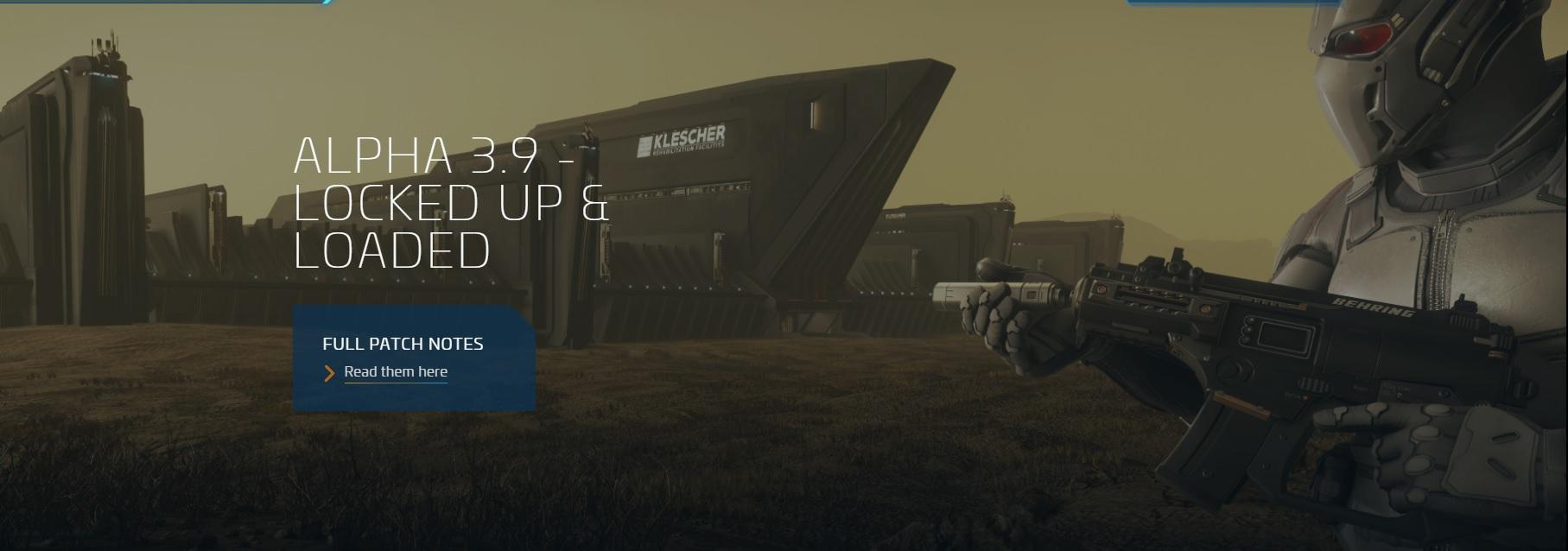 [Release 3.9. Alpha] Вышла новая версия Star Citizen