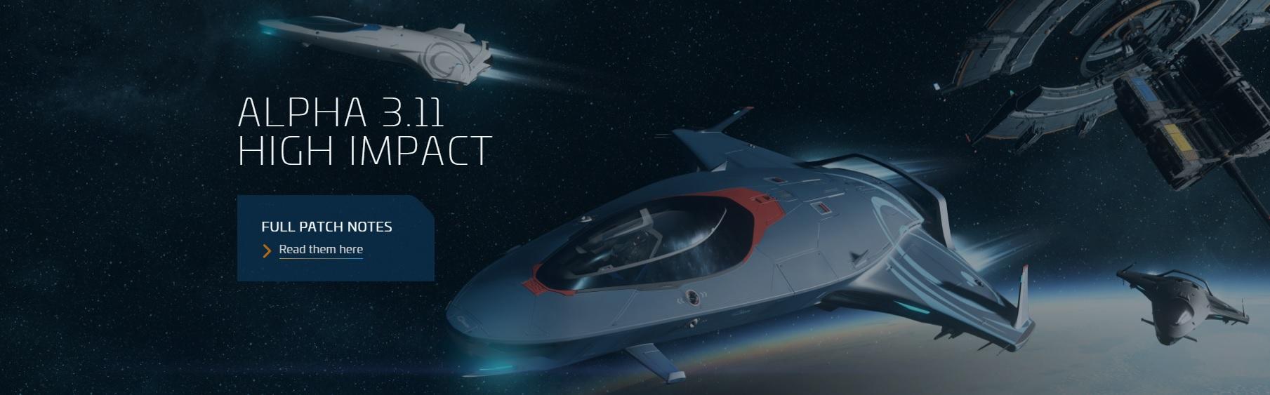 [3.11 Alpha — High Impact] Вышла новая версия Star Citizen